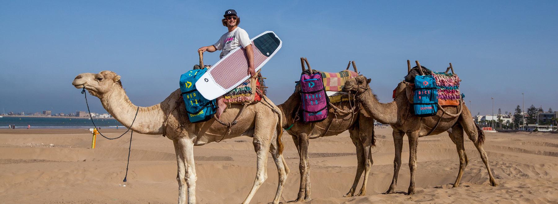 Essaouira-Kitesurfing in-Morocco