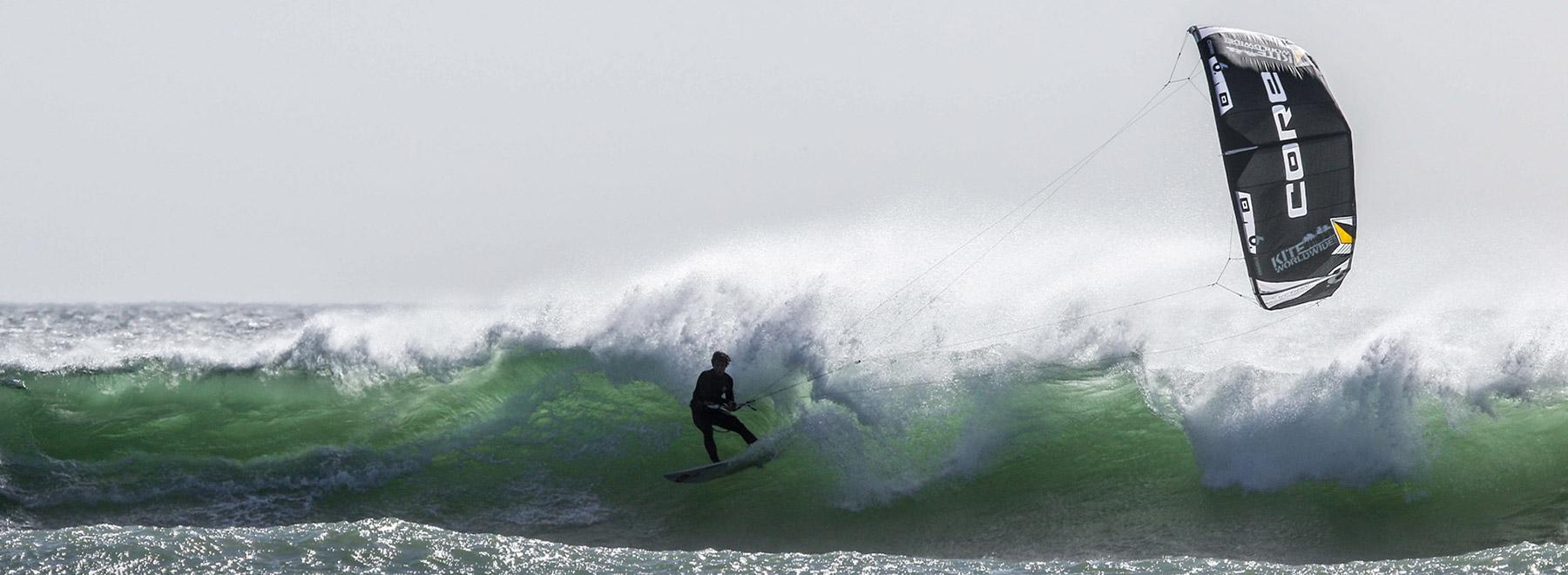 In Kapstadt Wavekiten