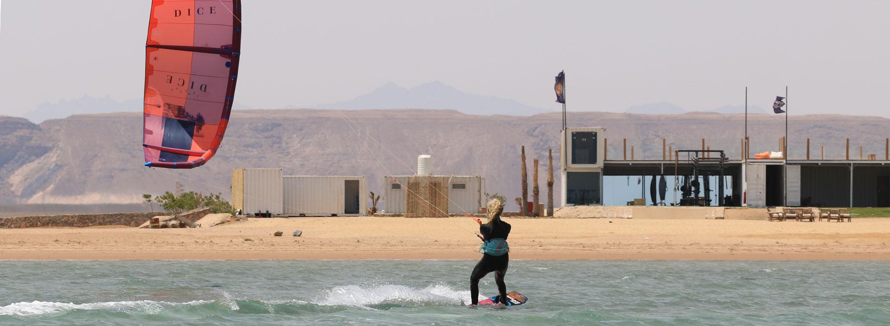 Kiteboarding-Events Kitesurfen in El-Gouna mit KiteWorldWide