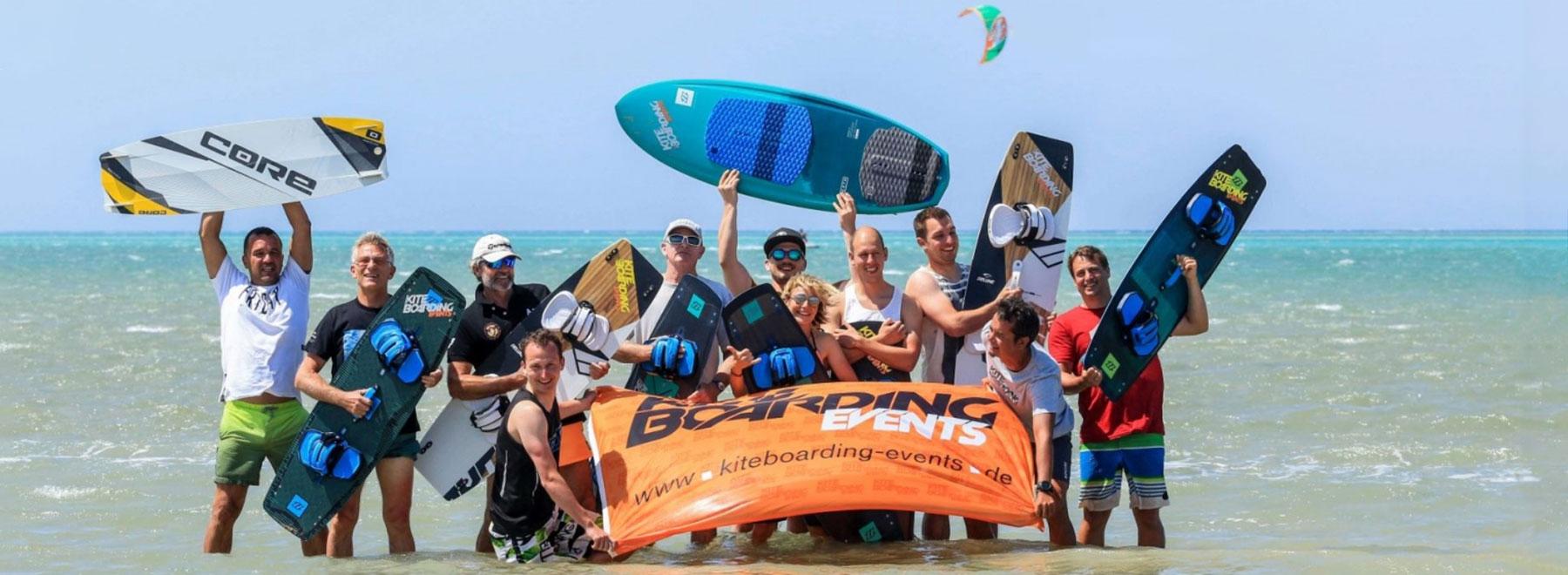 Mit Kiteboarding-Events zum Kitesurfen in El Gouna, Ägypten