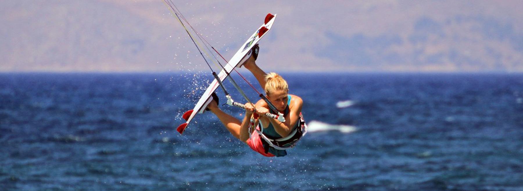 Kitesurfen Griechenland auf Kos