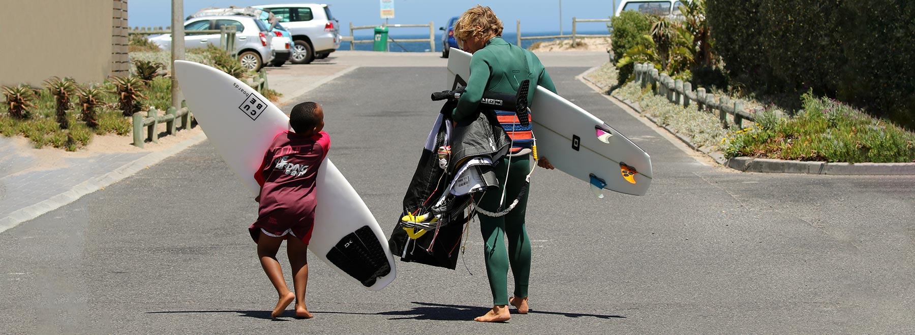 Kitesurfen in Kapstadt- Kiteurlaub Suedafrika