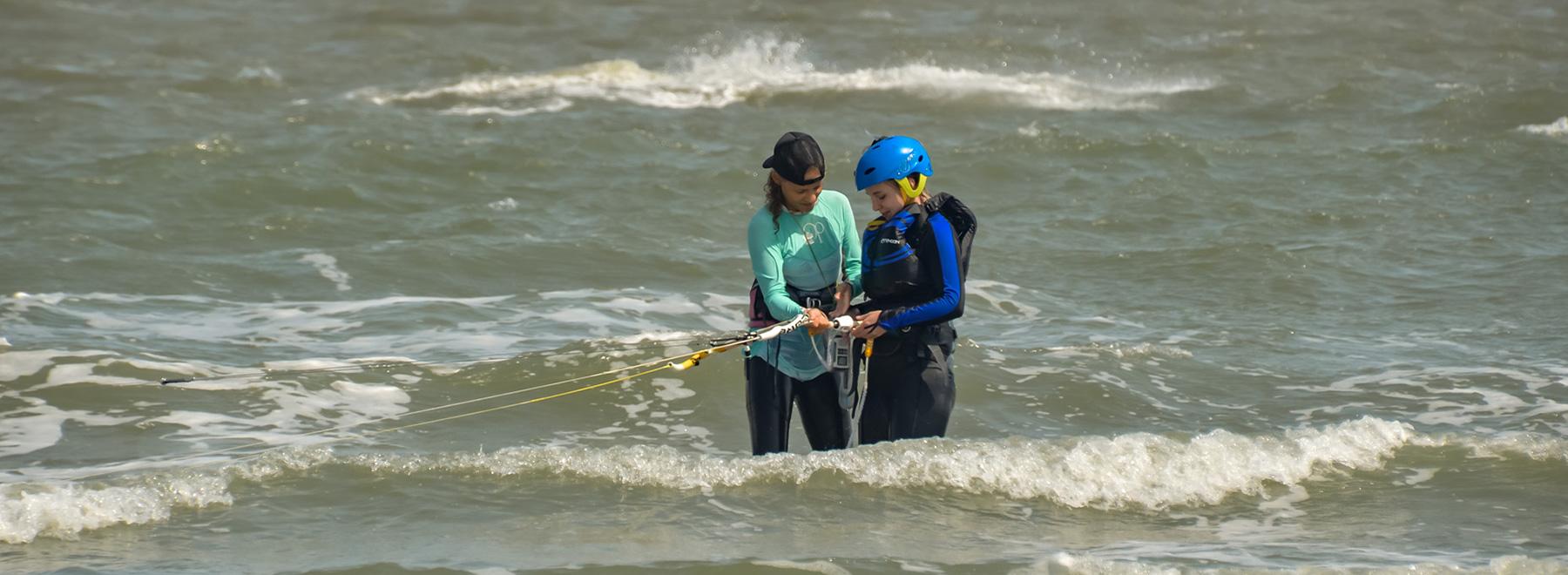 Kitesurfen-lernen,-Panama--Punta-Chame