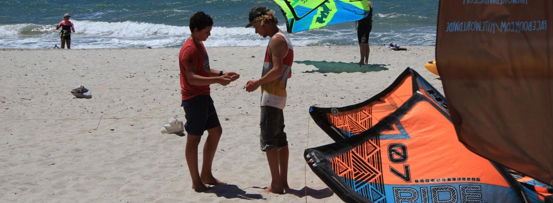 Kitesurfen lernen in Griechenland auf Kos