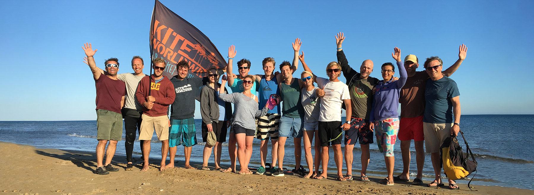 Kitesurfen mit Kiteboarding Events auf Sizilien