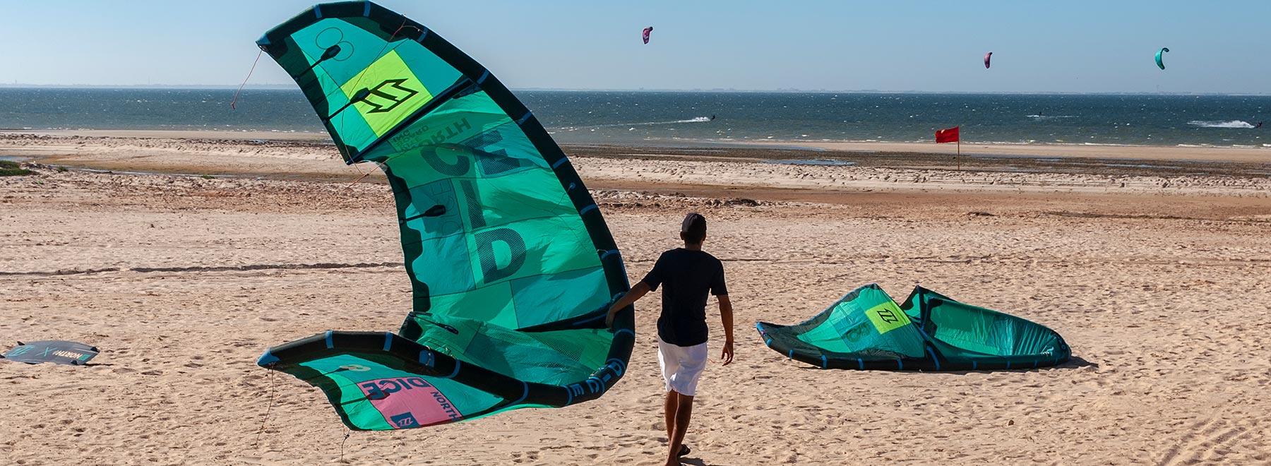 Kitesurfen lernen in Dakhla OceanAcademy