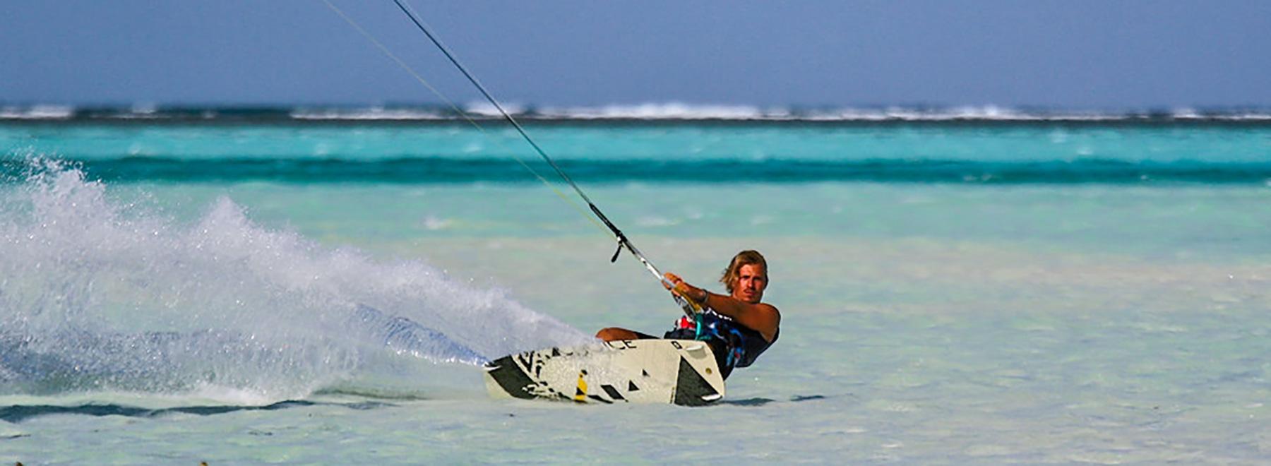 Kitesurfen auf Sansibar