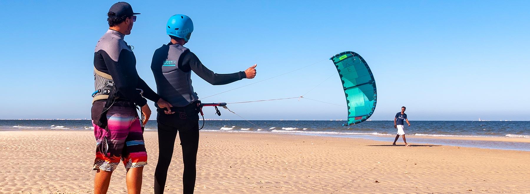 Kitesurfen lernen Dakhla, Marokko