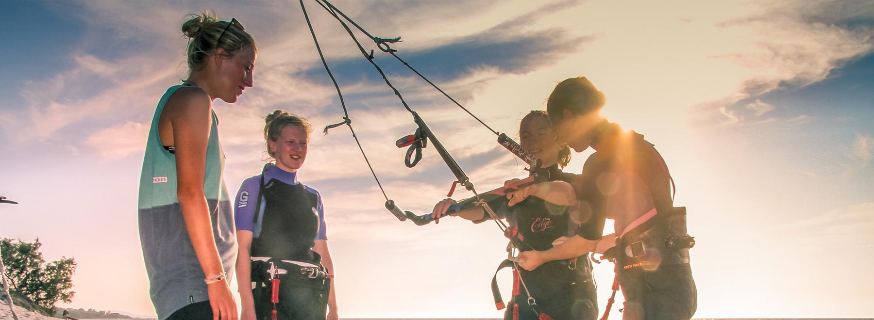 Kitesurfen lernen Kos, Griechenland