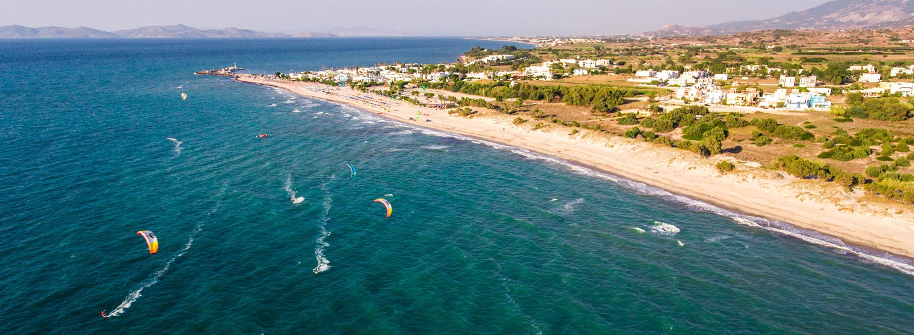 Kitesurfen auf Kos, Griechenland mit KiteWorldWide
