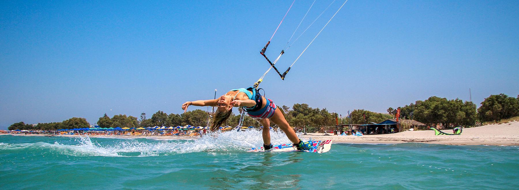 Mit KiteWorldWide zum Kitesurfen auf Kos, Griechenland