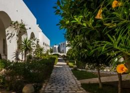 Der Garten des Jardin-de-Toumana auf Djerba