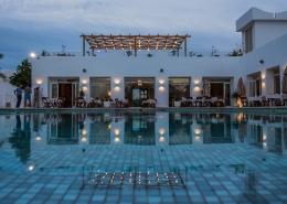 Das Hotel Jardin-de-Toumana, das Pool Restaurant