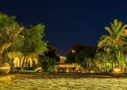 Kitesurfing Hotel Jardins de Toumana at night