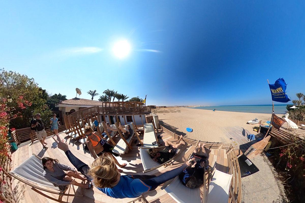 Kitereise in Aegypten mit KiteWorldWide in die Seahorse Bay
