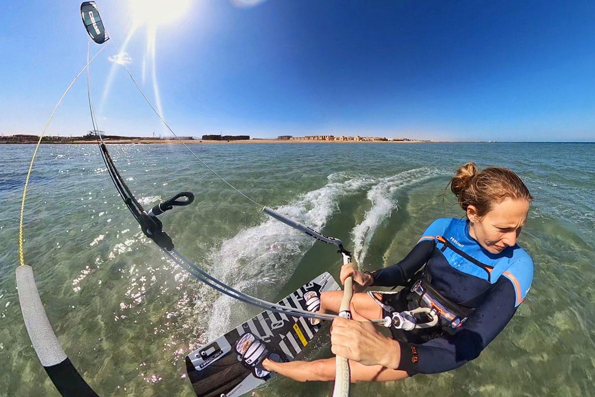 Kitesurfen in Aegypten, Kitereise mit Anne in der Seahorse Bay