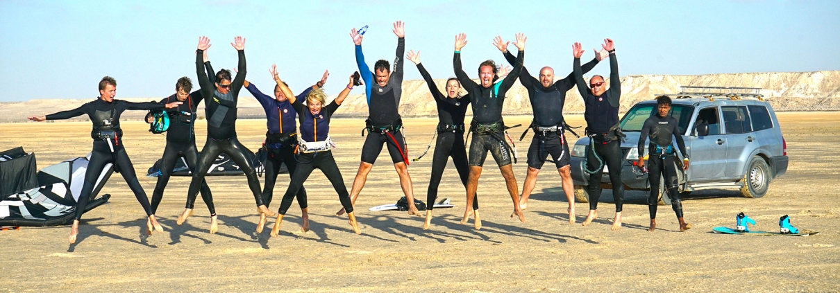 Kitesurf community kitesurfing with KiteWorldWide